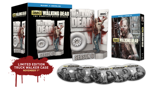 The Walking Dead Season 6 Limited Edition Blu-ray Giveaway