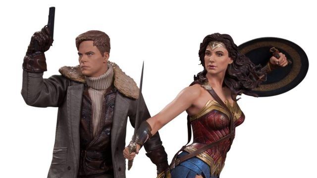 NYCC: Wonder Woman Statues Revealed for 2017 Film