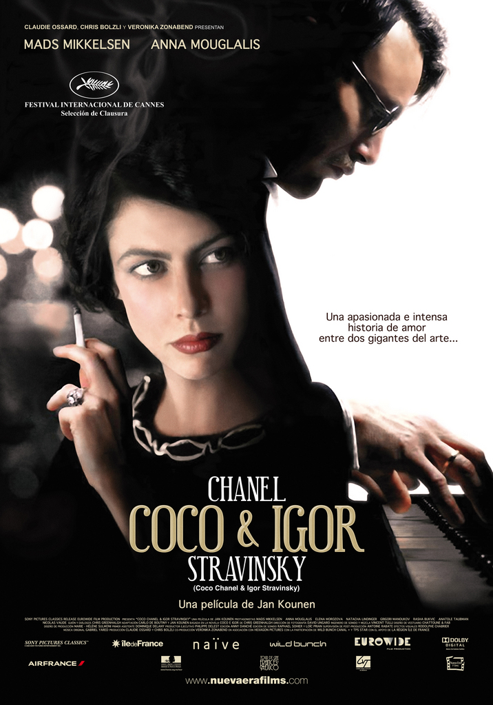 Coco and Igor is another one of the lesser known Mads Mikkelsen movies.