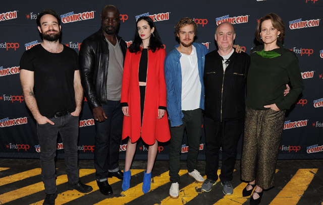 Watch The Defenders Get Introduced at New York Comic Con