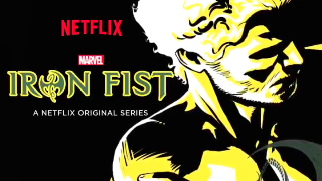 Marvel's Iron Fist Motion Poster Shows Off Danny Rand's Moves