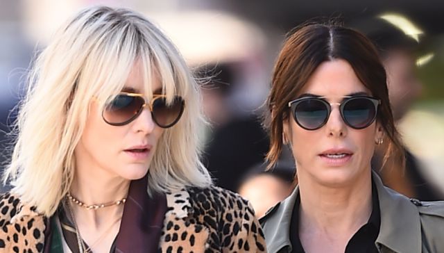 First Photos from the Set of Ocean's 8!