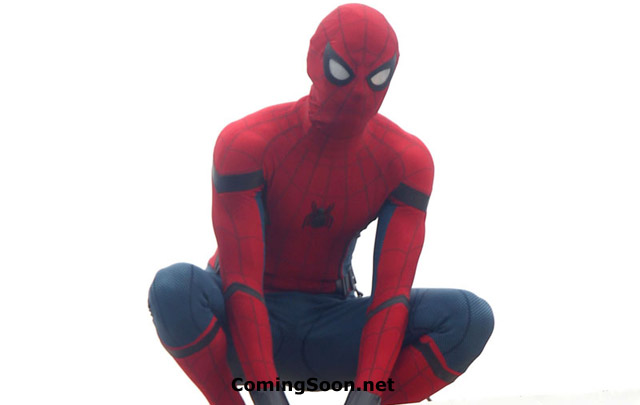 Tom Holland is Both Spider-Man and Peter Parker in New Set Photos