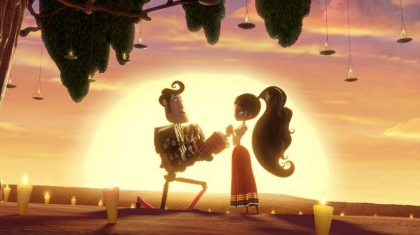 The Diego Luna movies list winds down with The Book of LIfe.