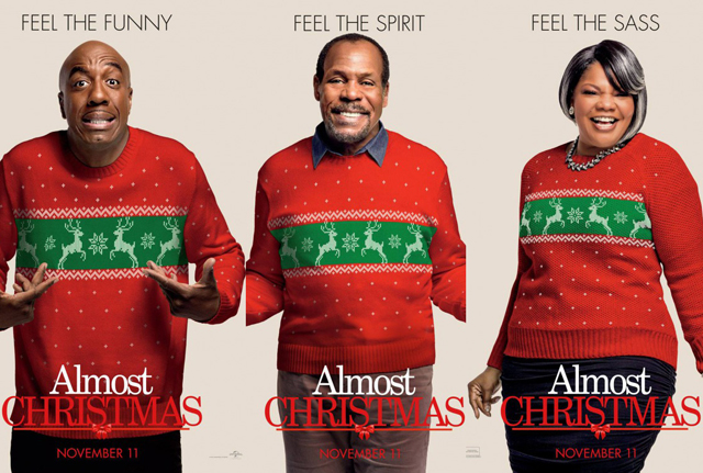 11 Almost Christmas Character Posters for Your Stockings