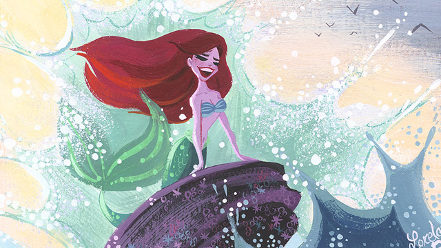 Take a look at a Disney art gallery celebrating the Disney work of Moana directors Ron Clements and John Musker. View 36 pieces from the upcoming show.