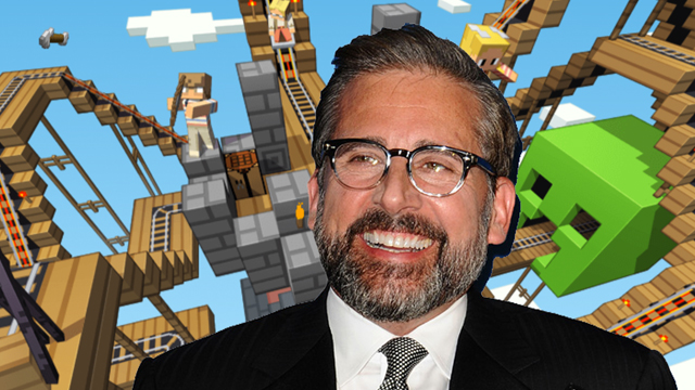 Will Steve Carrell play Minecraft? Who else might play Minecraft? You might play Minecraft!