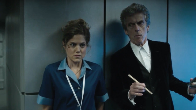 """Check out a first clip from the upcoming 2016 Doctor Who Christmas Special, """"The Return of Doctor Mysterio"""". Catch it on BBC America on December 25."""