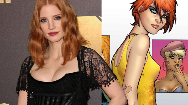 Jessica Chastain is Painkiller Jane!