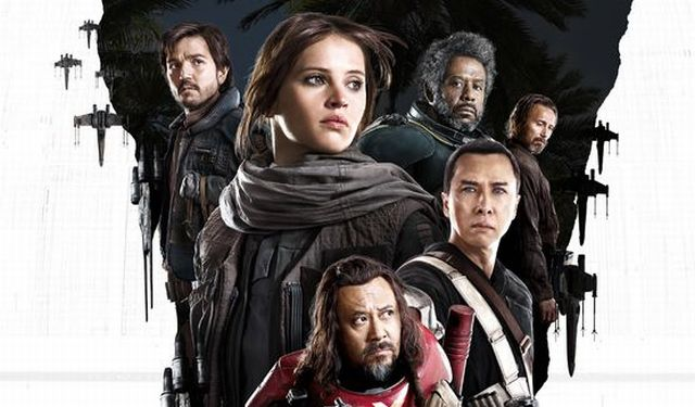 The Rogue One IMAX poster assembles the new crew. You can view the Rogue One IMAX poster here.
