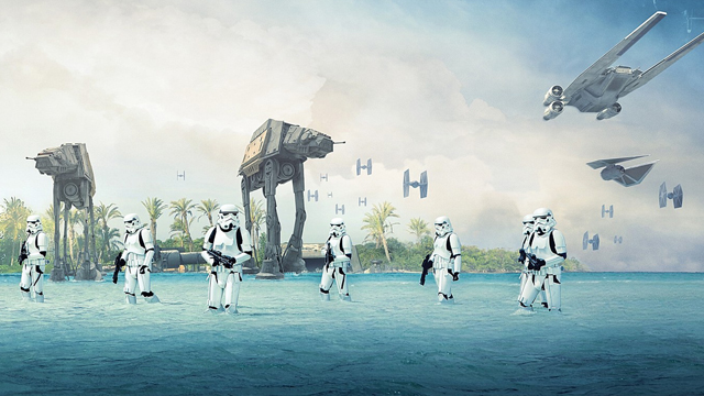 Explore the Rogue One ships, droids and new technologies!