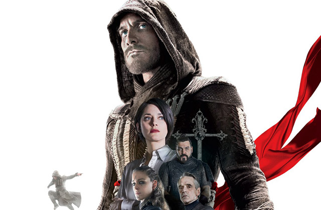 International Assassin's Creed Poster Features the Past and the Present