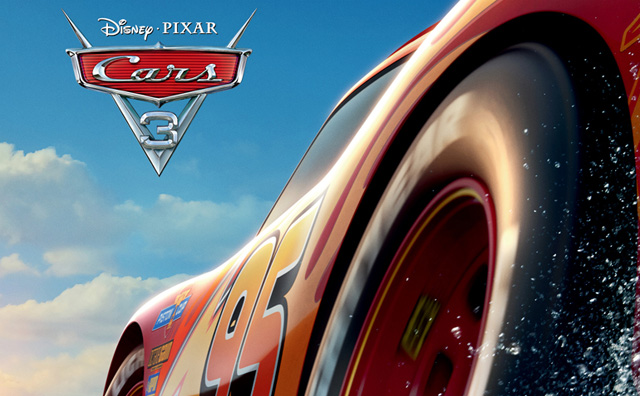 There's No Crashing in the International Cars 3 Poster