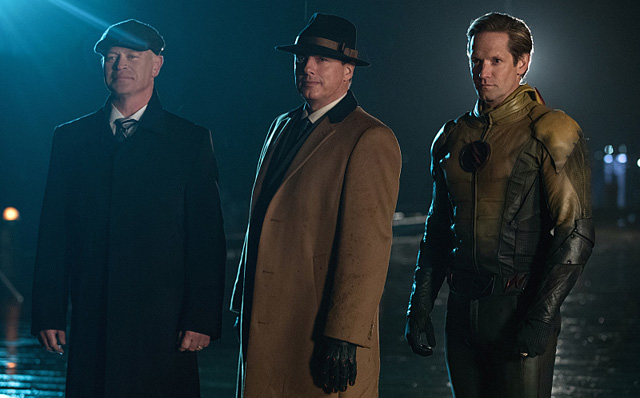 Legends of Tomorrow Invasion Promo and Chicago Way Photos