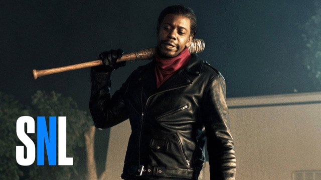 Dave Chappelle Characters Revisited in SNL The Walking Dead Skit