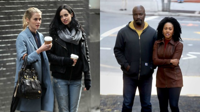 Marvel's Defenders Cast is Coming Together in New Photos