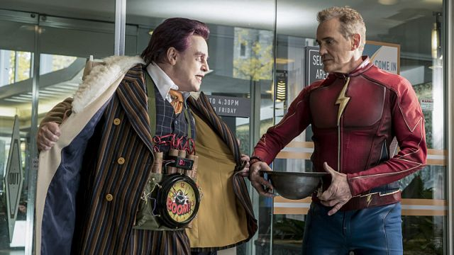 It's a 90s Flash Reunion in The Flash Episode 3.09 Photos