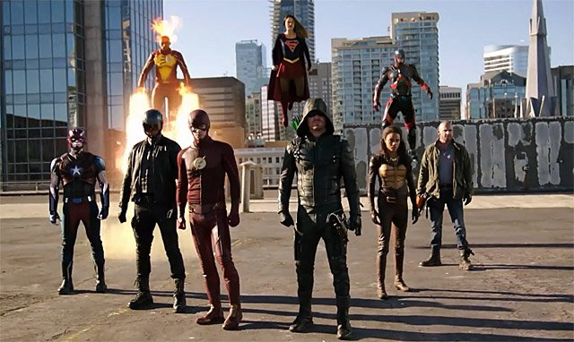 Extended Trailer for Supergirl, Arrow, The Flash and Legends of Tomorrow Crossover