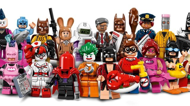 LEGO Batman Gets His Own 'LEGO Batman Movie' Minifigures, Complete With Lobster