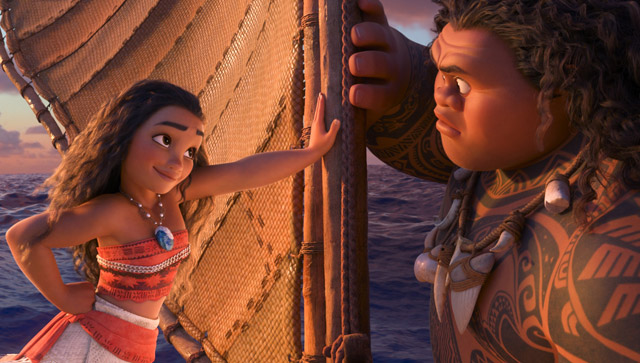 Moana Sails to $ Over the Thanksgiving Holiday