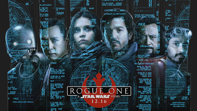 The Diego Luna movies list concludes with Rogue One: A Star Wars Story.