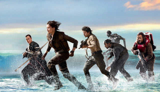Rebels and Stormtroopers Clash in New Rogue One Art