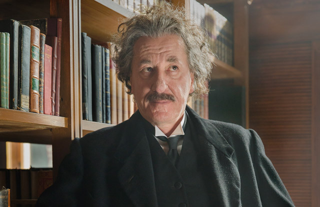 First Look at Geoffrey Rush and Johnny Flynn in National Geographic's Genius