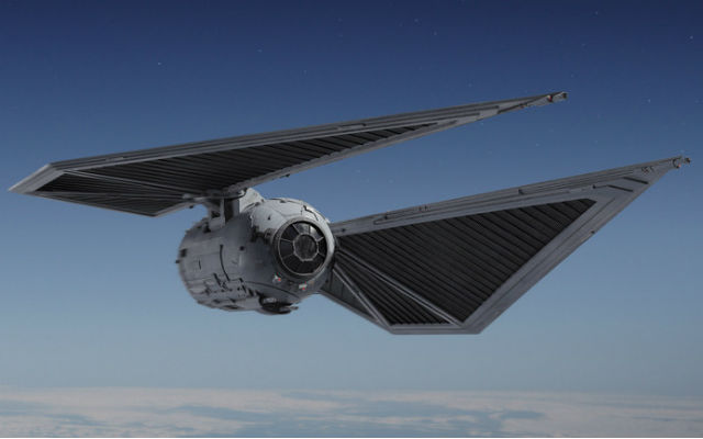 The TIE Striker is one of the new Rogue One ships.