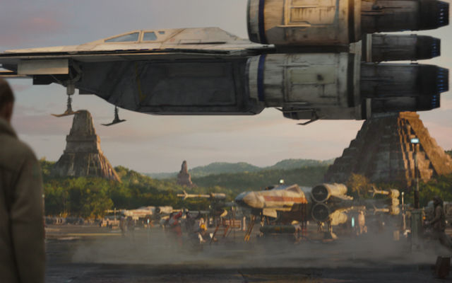 The U-Wing is one of the new Rogue One ships.