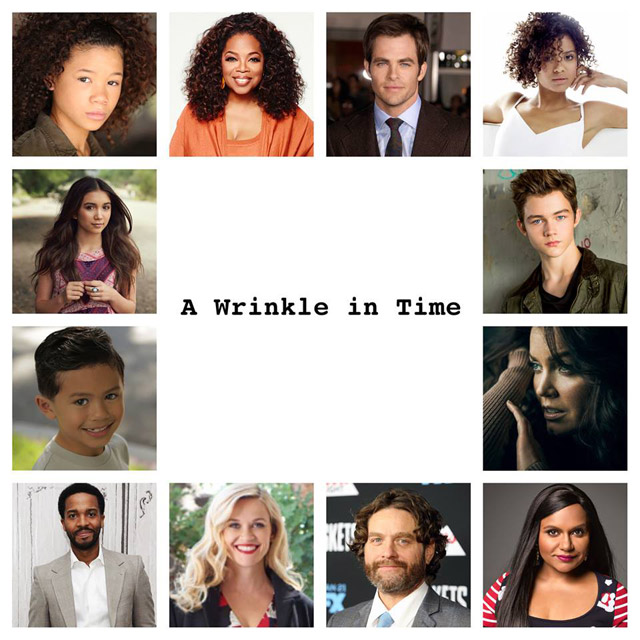 A Wrinkle in Time Cast Announced as Filming Begins
