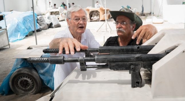 Audio Interview: Roger Corman on Death Race 2050, Politics, Painting and More