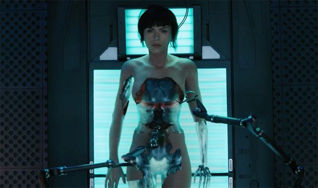 Ghost in the Shell Motion Poster Teases The Machine Underneath