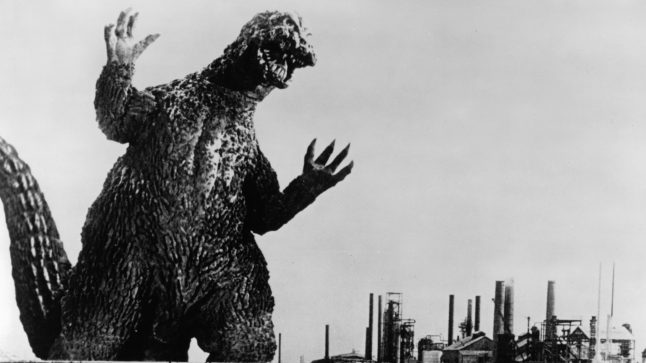 Godzilla in a scene from the film 'Godzilla VS. The Smog Monster', 1971. (Photo by Toho/Getty Images)