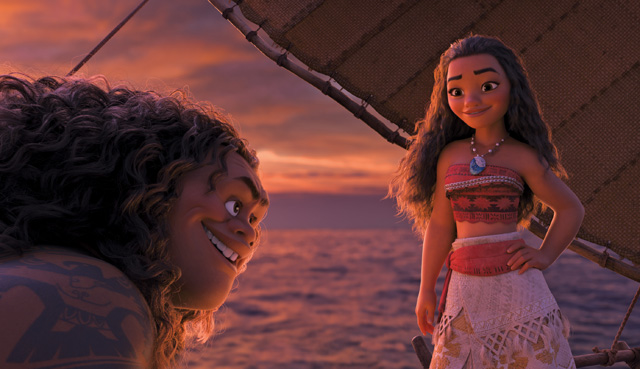 Moana Wins Domestic Box Office a Third Straight Weekend