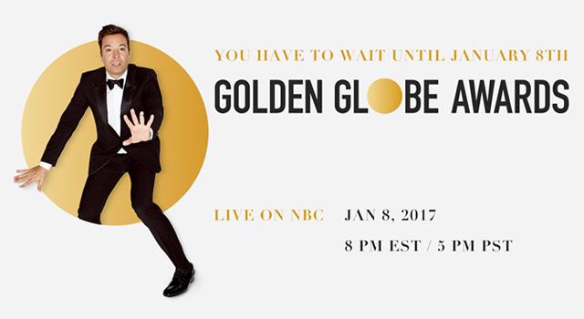 Golden Globe Presenters Announced for the 74th Awards