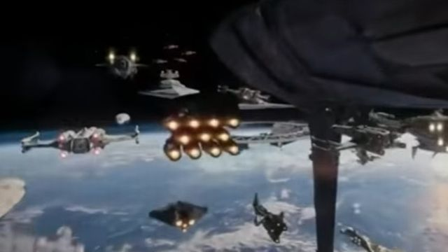 Does this Rogue One TV Spot have Star Wars Rebels Easter Egg?