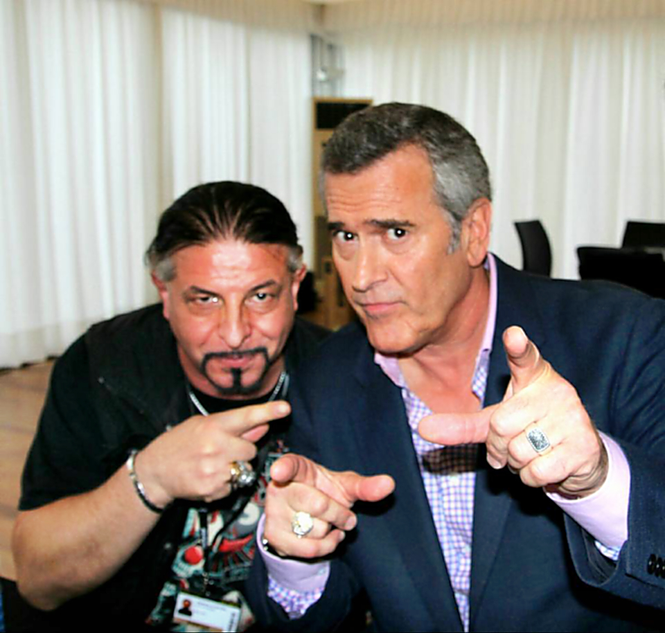 Con Bruce Campbell (2)