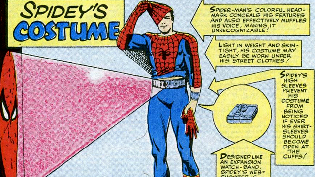 Take a look at Spidey's Homecoming costume.