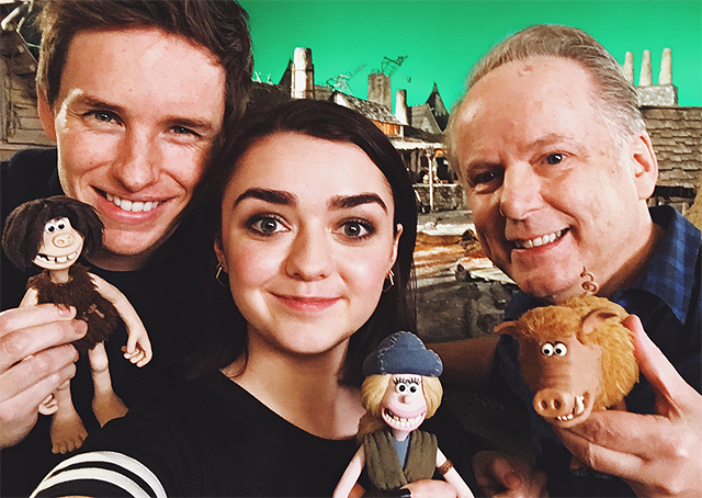Maisie Williams Joins Aardman Animations' Early Man