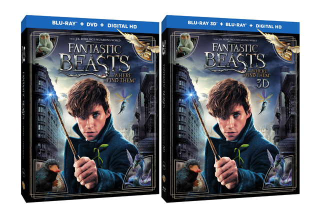 Fantastic Beasts Blu-ray and Digital HD Announcement