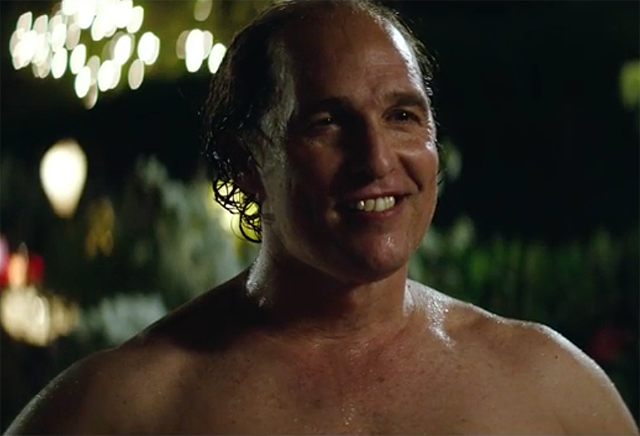 Matthew McConaughey in the Gold Red Band Trailer