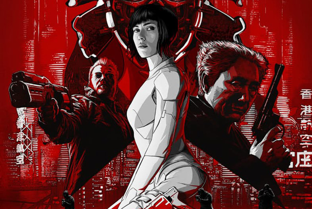 Ghost in the Shell Super Bowl Spot Comes Out Guns Blazing
