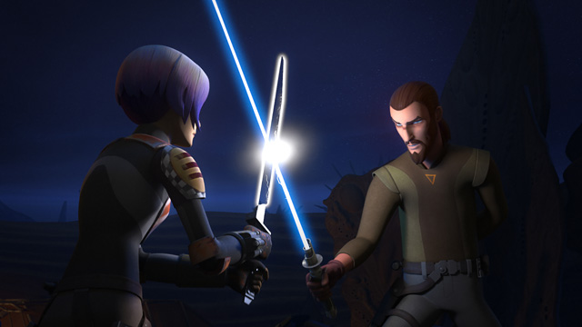 Trials of the Darksaber Clip and Images from Star Wars Rebels