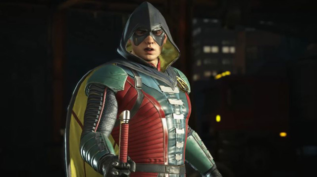 Robin Gameplay from Injustice 2 Revealed