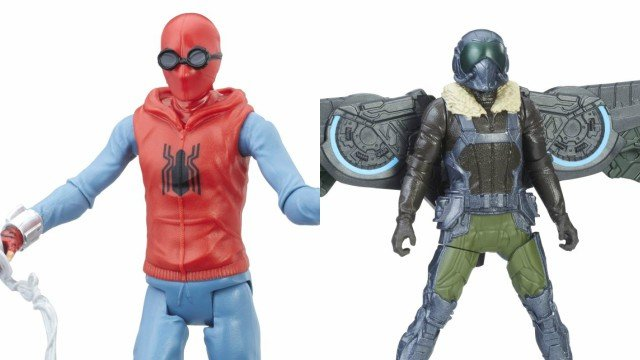 First Spider-Man: Homecoming Toys Officially Revealed