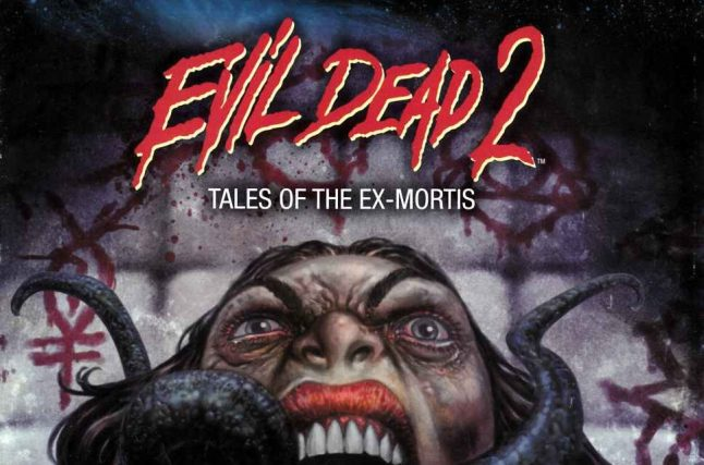 Space Goat Plans More Evil Dead 2 Comics, Coloring Books and More