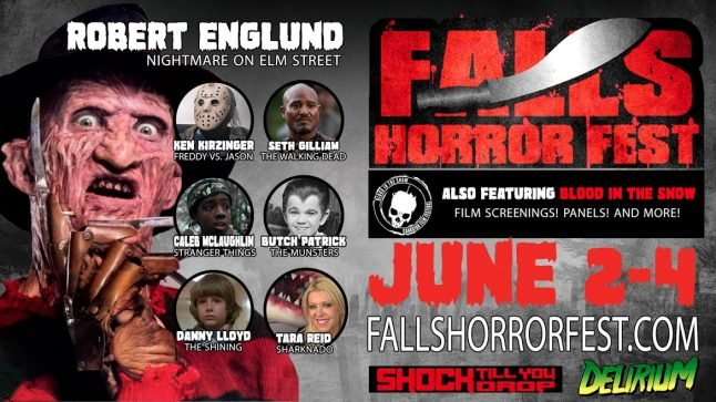 Robert Englund, Caleb McLaughlin, Butch Patrick and More Coming to Falls Horror Fest