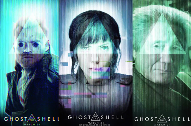 Ghost In The Shell Character Motion Posters Are Here