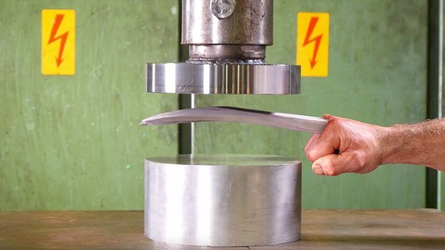 Check out Logan's visit to the Hydraulic Press channel!