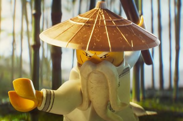 lego ninjago movie images with jackie chan s master wu